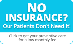 No dental insurance we can help
